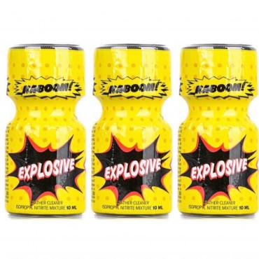 Poppers explosive 10ml X 3