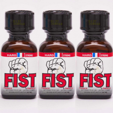 Poppers Fist hard 24ml X 3