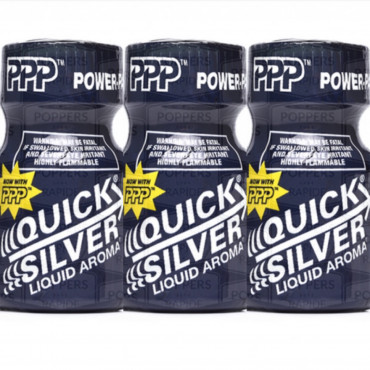 Poppers quick silver 10ml X 3