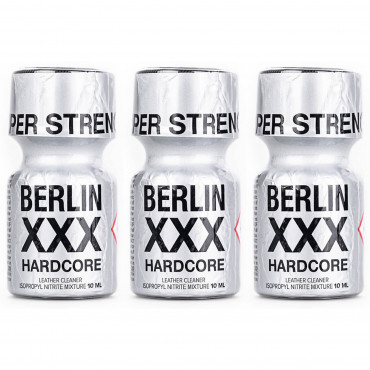 Poppers Berlin XXX 10ml x 3