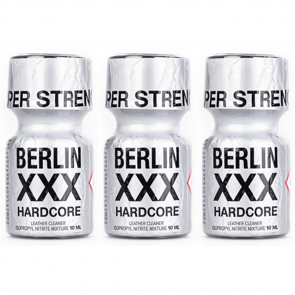 Poppers Berlin XXX 10ml x 3