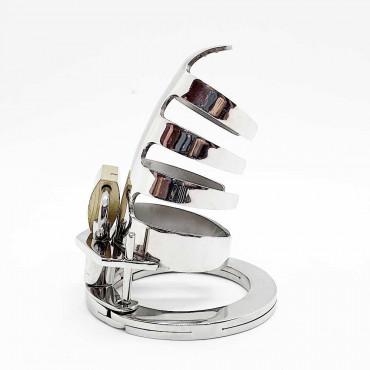 Cock cage silver
