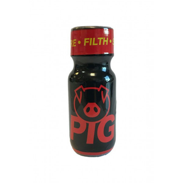 Poppers Pig Red