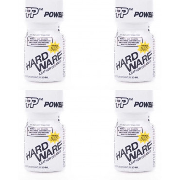 Poppers hardware 10ml x 4